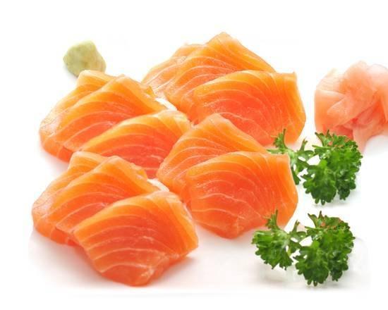SA1. Sashimi saumon