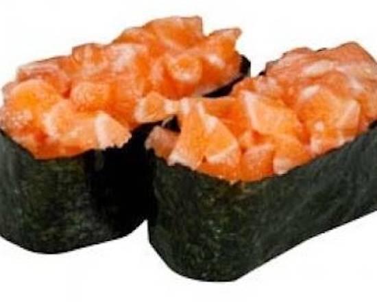 SU7. Sushi tartare de saumon