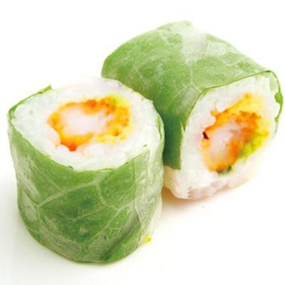 S5. Spring roll tempura crevette avocat