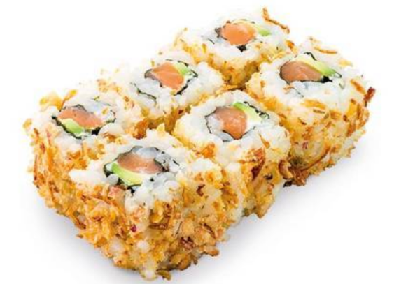 MC1. Maki oignons croustillants saumon avocat