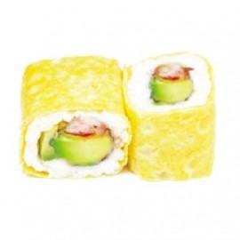 207 Omelette Roll Saumon Grillé Avocat