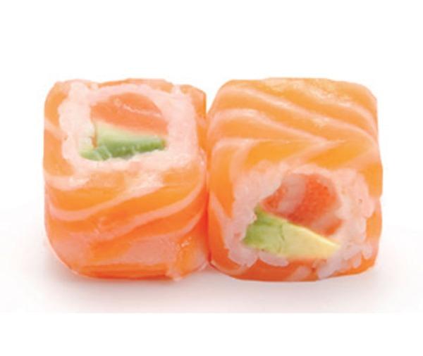 101 Saumon Roll Saumon Avocat