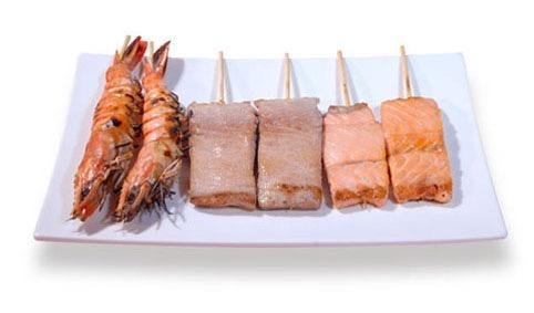M6:Menu fruits de mer
