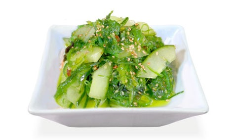 3B:Salade d'algue et concombre