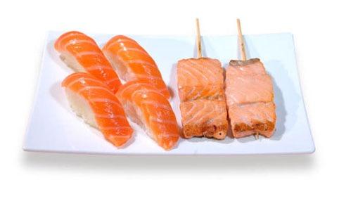 M2:menu sushi brochette
