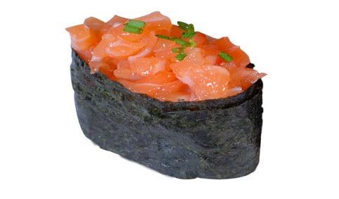 SU7:Sushi tartare de saumon