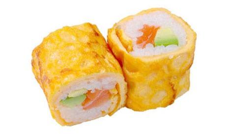 60:Egg Roll saumon avocat