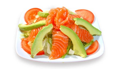 6:Salade saumon avocat