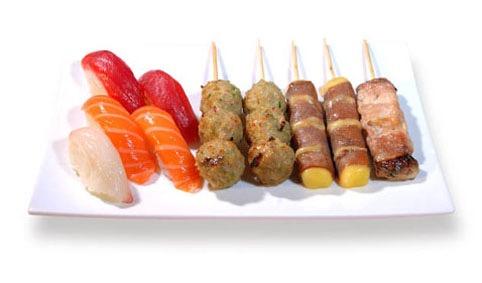 M10:Sushi brochette