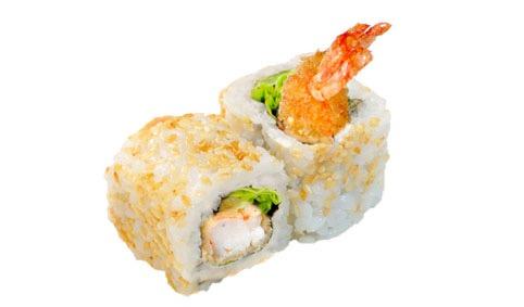 76 California Roll tempura crevette