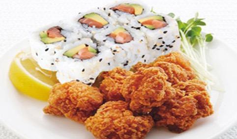 M4A:california et poulet frit