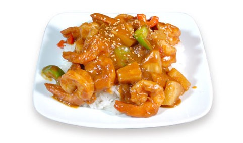 H4:Crevette au curry