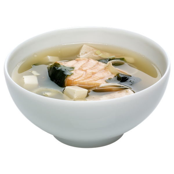 E2 Soupe miso saumon