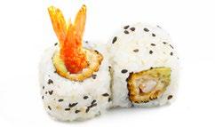 C12 California tempura crevette avocat