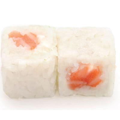 W1 White roll saumon (sésame) 6P