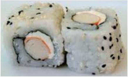 C6 California surimi cheese