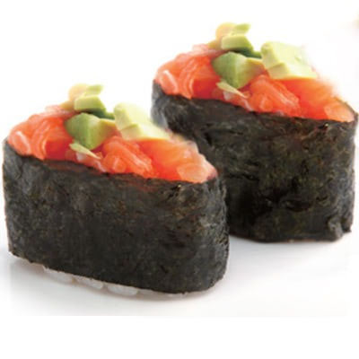 S9 Sushi tartare saumon cru avocat
