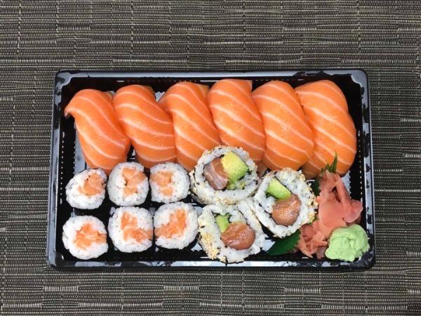 Menu saumon