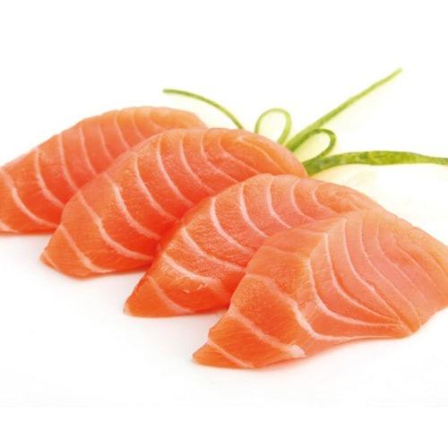 Sashimi saumon x8