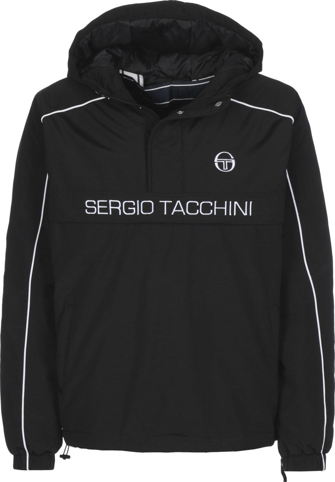 Details about Sergio Tacchini Dabou Anorak Popover Hooded Jacket