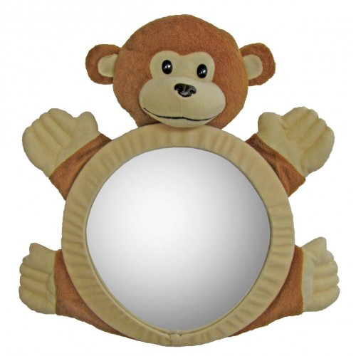 Happy Mummy Car Mirror - Monkey-0