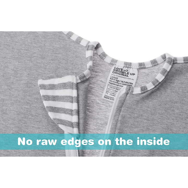 Love To Dream Swaddle Original - Stage 1 - Grey Small 3 - 6kg-3735