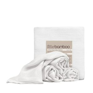 Little Bamboo Organic Muslin Squares (Pack of 10)-0