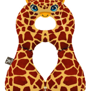 BenBat Neck Support Travel Friend Big - Giraffe-0