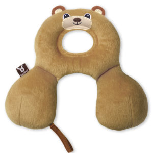 BenBat Neck Support Travel Friends Baby - Bear-0