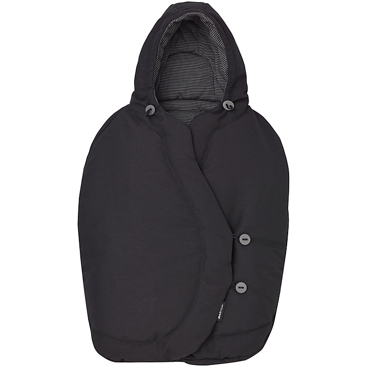 Maxi-Cosi Pebble Footmuff - Black Raven-0