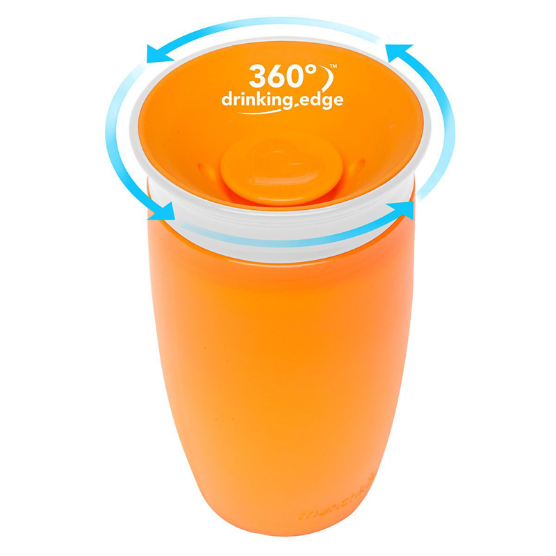 Munchkin Miracle 360 Trainer Cup - Orange-0